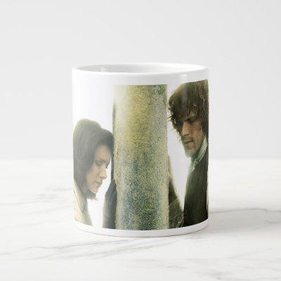 Outlander Season 3 | Claire and Jamie Giant Coffee Mug