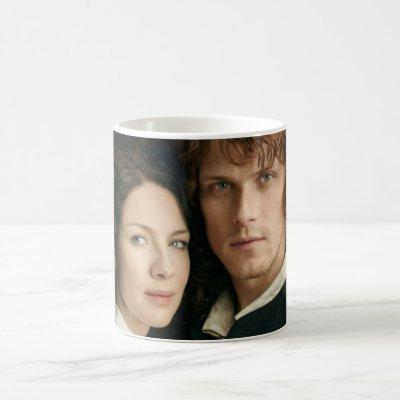 Outlander Season 3 | Jamie and Claire Photograph Coffee Mug