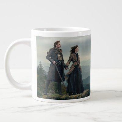 Outlander Season 4 | Brave the New World Giant Coffee Mug