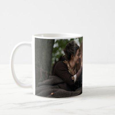 Outlander Season 4 | Jamie & Claire Cuddling Coffee Mug