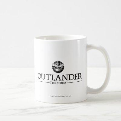 Outlander | The Series Logo Black Coffee Mug