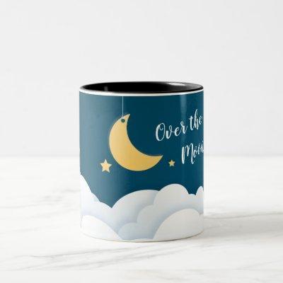 Over the Moon Two-Tone Coffee Mug