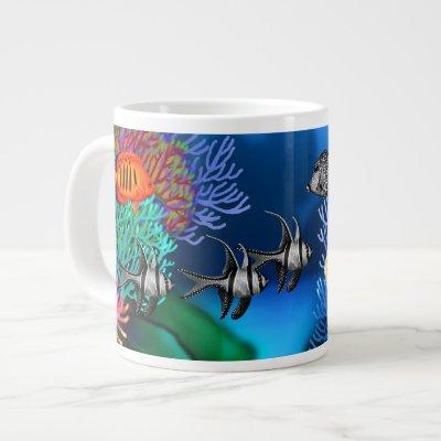 Pacific Coral Reef Fish Specialty Mug