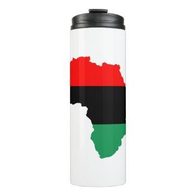 Pan-African flag Thermal Tumbler