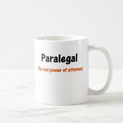 Paralegal Power of Attorney Mug