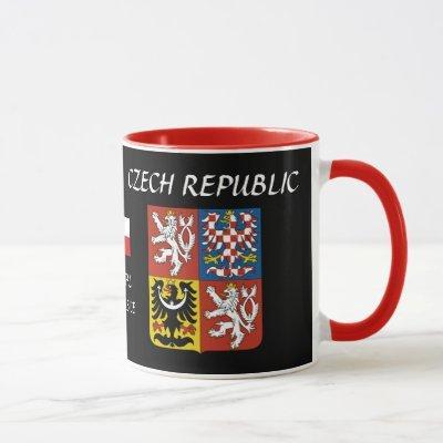 Pardubice Czech Republic Crest Mug