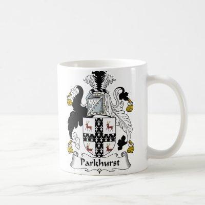 Parkhurst Family Crest Coffee Mug