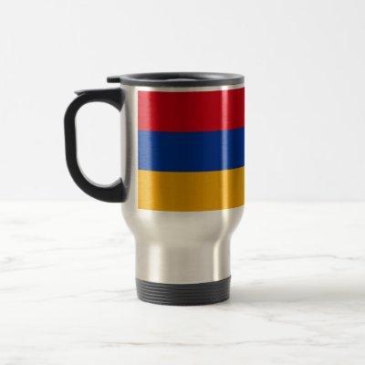 Patriotic Armenian Flag Travel Mug
