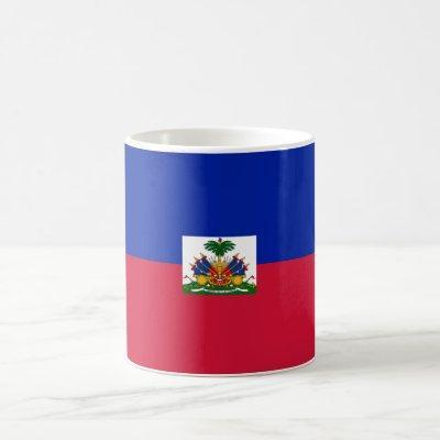 Patriotic Haiti Flag Coffee Mug