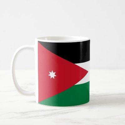 Patriotic Jordan Flag Coffee Mug