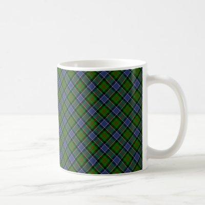 Patterson Clan Tartan Designed Print Coffee Mug