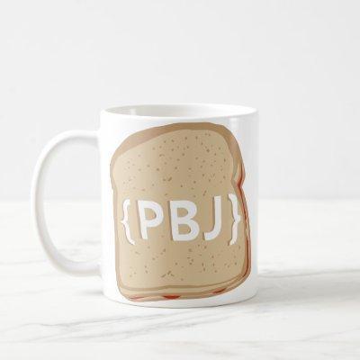 {PBJ} Logo - Dual Sided Mug