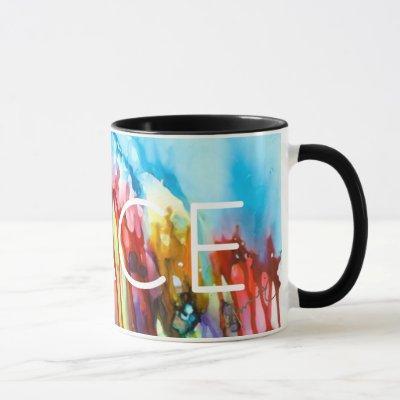 Peace Sobbing Universe Lovitude Mug