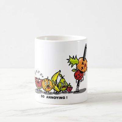 Pen apple pineapple pen coffee mug