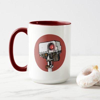 Percy the Mars Rover Mug