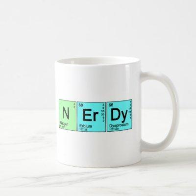 Periodic Nerd Coffee Mug