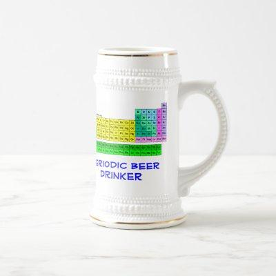 Periodic Table Beer Stein by Toolshed Labs