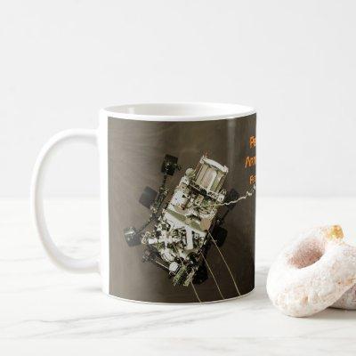 Perseverance Arrives at Mars Coffee Mug