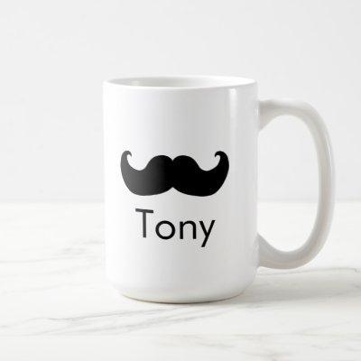 Personal name Mustache Mr mug