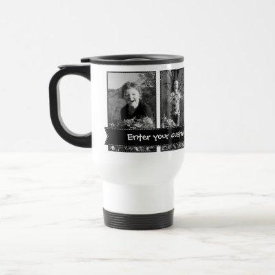 Personalizable Photo Travel Mug