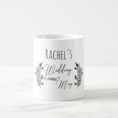 Personalizable-Wedding-Planning-Mug Coffee Mug