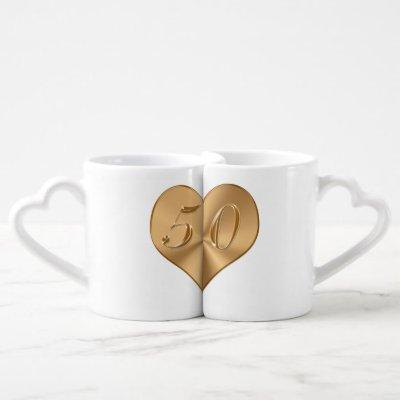 Personalized 50th Wedding Anniversary Gifts MUGS
