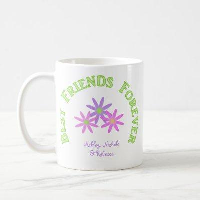 Personalized Best Friends Forever Mug