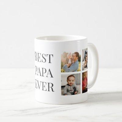 Personalized Best Papa Ever Photo Mug