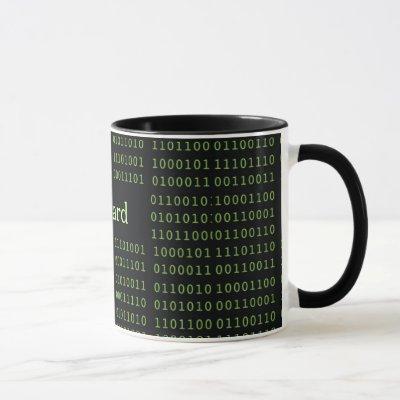 Personalized Binary Code Mug
