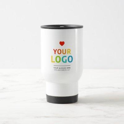 Personalized coffee tumbler | Your Business Logo Travel Mug