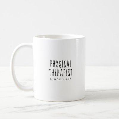Personalized Cute & Trendy Physical Therapist Mug