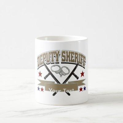 Personalized Deputy Sheriff Coffee Mug
