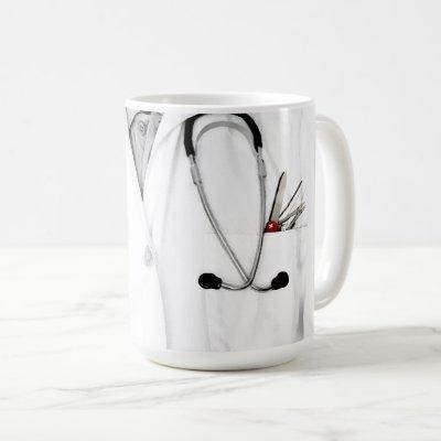 personalized doctor gift coffee mug