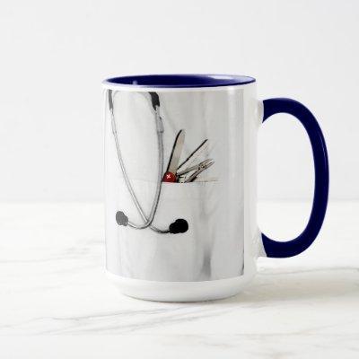 personalized doctor gift mug