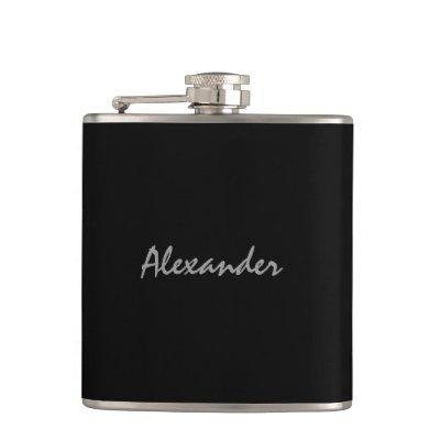 Personalized drink flask | elegant gift for men