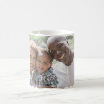 Personalized Family Photo Design Own Upload Pictur Coffee Mug