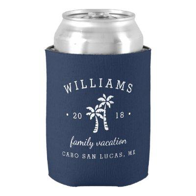Personalized Family Vacation Can Cooler