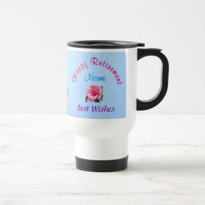 Personalized Happy Retirement Gift Ideas for Women Travel Mug