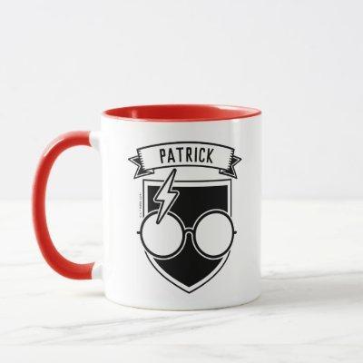 Personalized HARRY POTTER™ Badge Mug