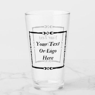 Personalized Home Or Business Glass