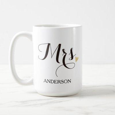 Personalized Mrs. Future Mrs. Coffee Mug