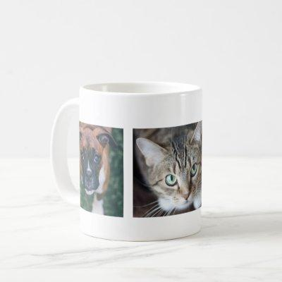 Personalized Multiple Pet Photo Mug