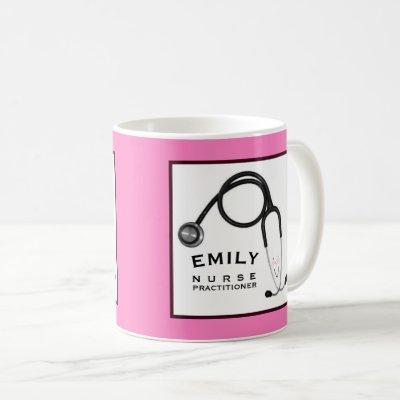 personalized nurse practitioner gift ideas coffee mug