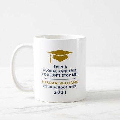 Personalized Pandemic - Graduate Class of 2021 Mug