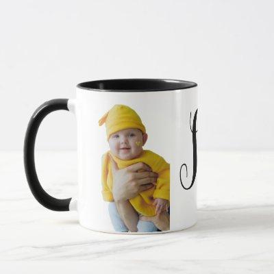 Personalized Photo and Name Coffee Mug