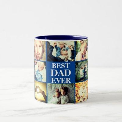 Personalized photo and text Two-Tone coffee mug
