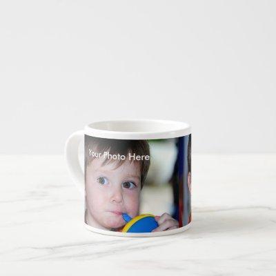 Personalized Photo Espresso Mug