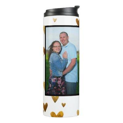 personalized photo thermal tumbler