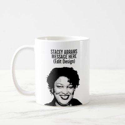 Personalized Stacey Abrams Coffee Mug