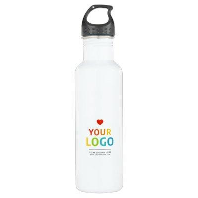 Personalized Water Bottle with Your Business Logo